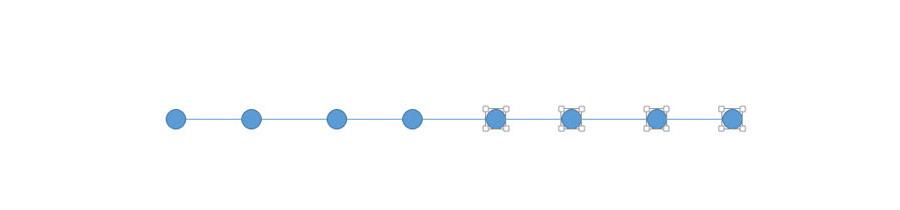 """如何用PPT五步绘制""""逗号""""时间线表达?"""