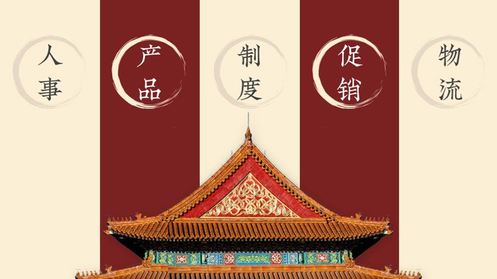 《中国风工作汇报》PPT模板欣赏
